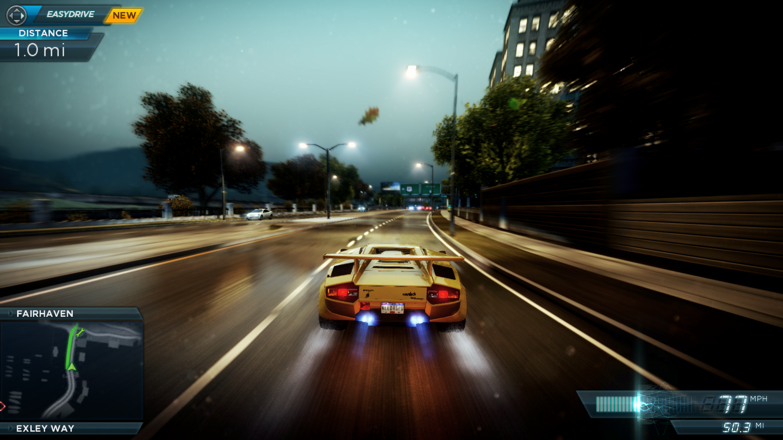 Need For Speed Most Wanted 2012 lamborghini
