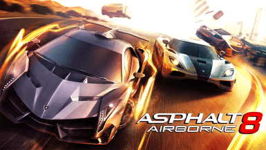 Asphalt 8 Airborne Title