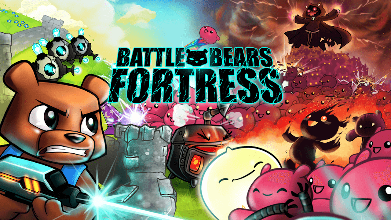 Battle Bears Fortres Android Hra - Titulek