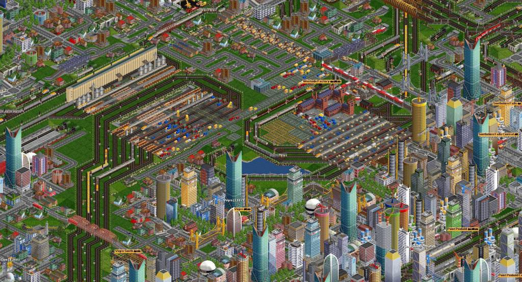 Open TTD - Transport Tycoon Deluxe