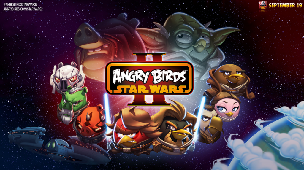 Android hra Angry Birds Star Wars 2