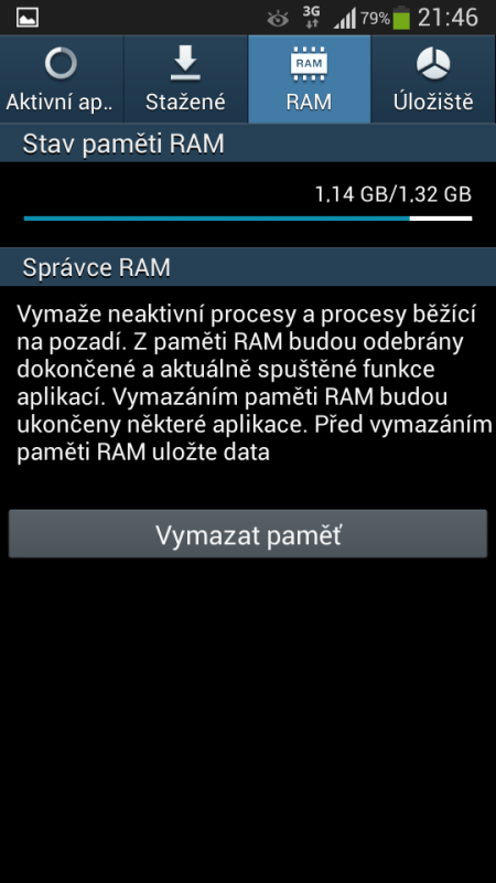 Samsung Galaxy S4 mini - FreeRAM
