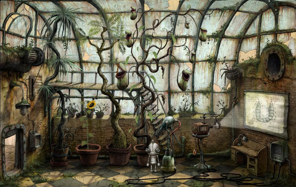 Machinarium - obrázek ze hry