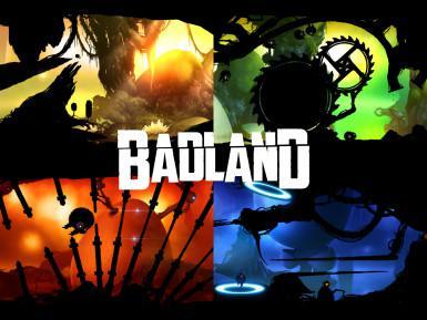 BADLAND android hra logo