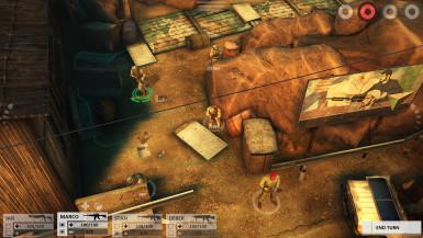 Hra Arma Tactics taktická tahová strategie na tablet