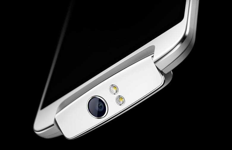 OPPO N1 telefon s otočnou kamerou