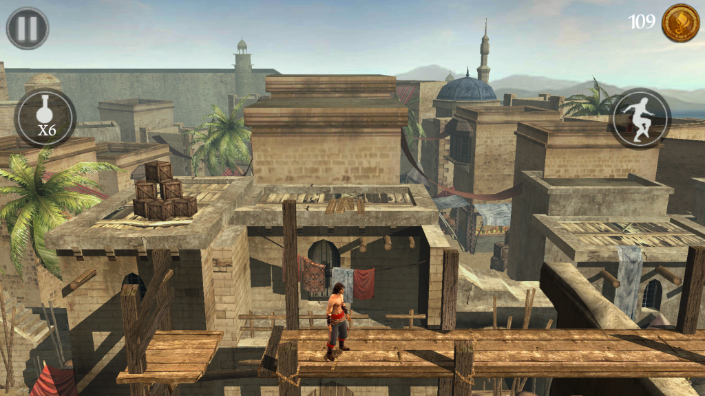 Prince of the Persia 2 Shadow of the Flame plosinovka na tablet