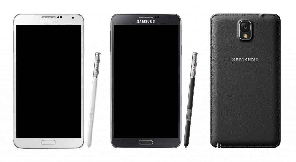 Samsung Galaxy Note 3 srovnání