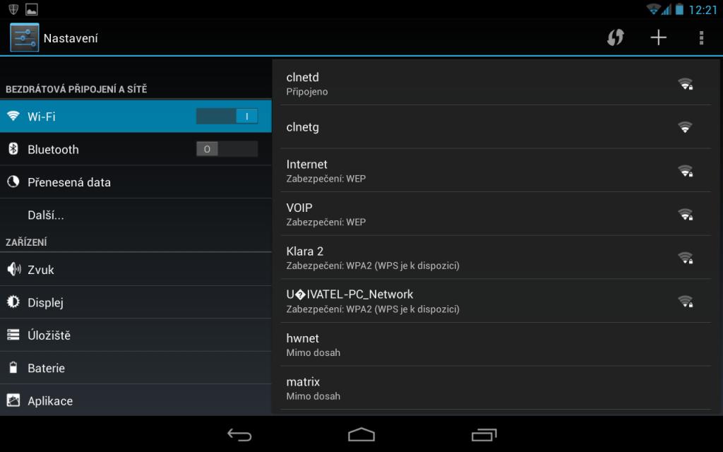 Jak aktualizovat android - přístup do nastavení systému