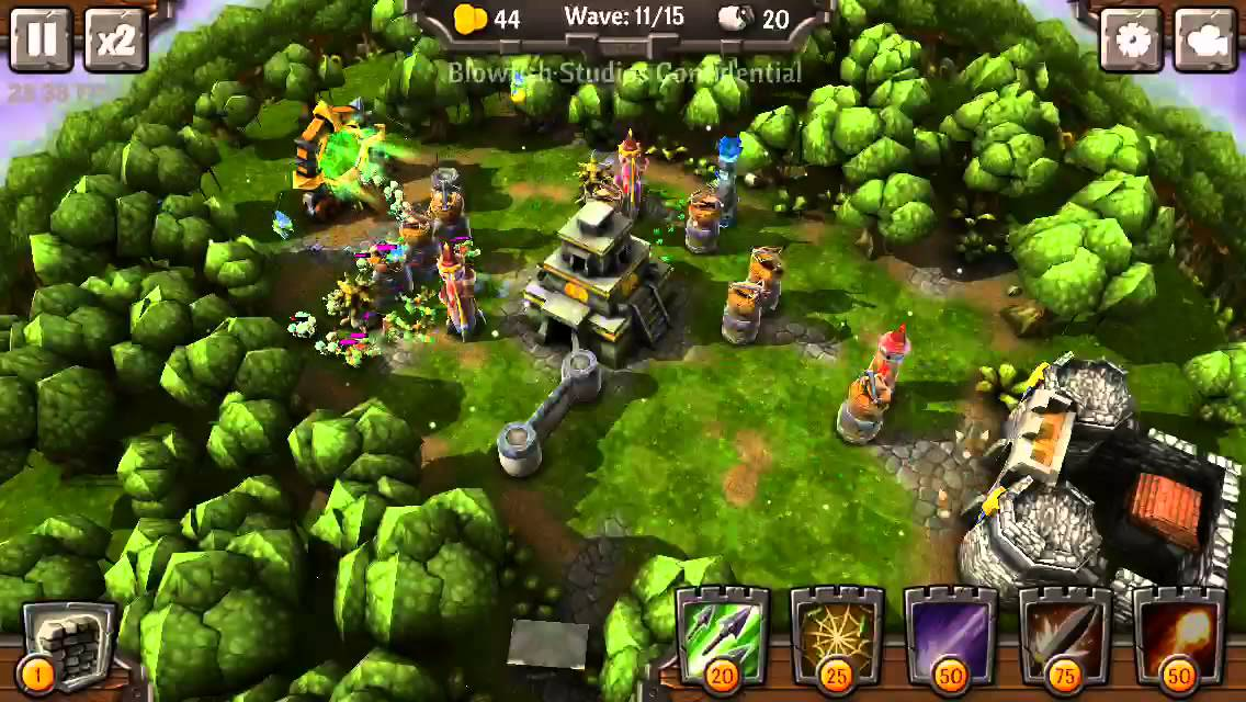 Siegecraft Defender tower defense hra pro android tablety a telefony