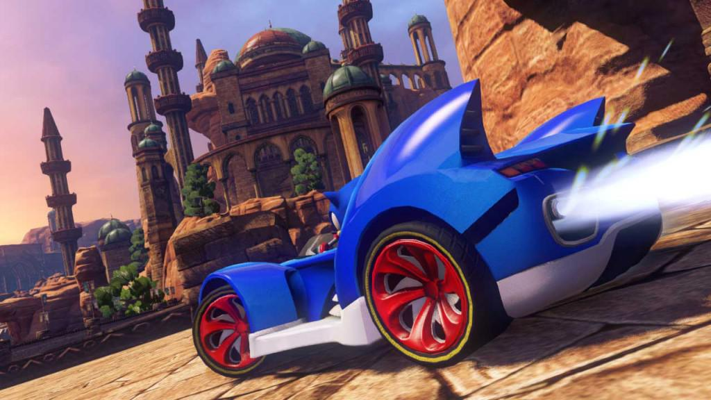 Sonic all stars racing -  automobilové závody se Sonicem na android tablet