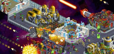 Star Command strategické scifi hra na android tablety a mobilní telefony