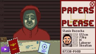 papers please hra na celníka