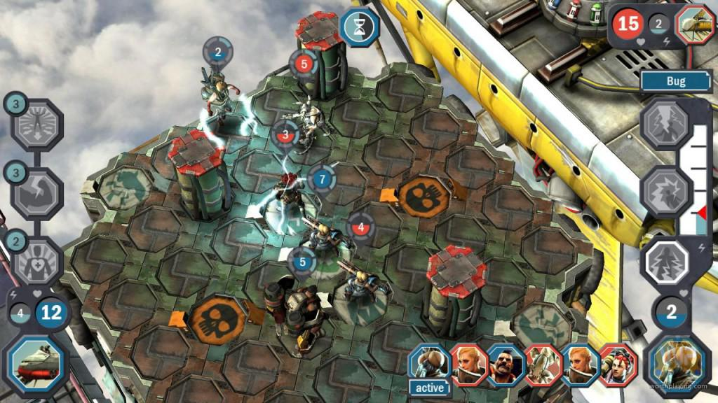 Aerena Clash of Champions hra pro Android