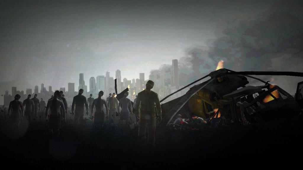 Akční zombie hra pro android Into the dead