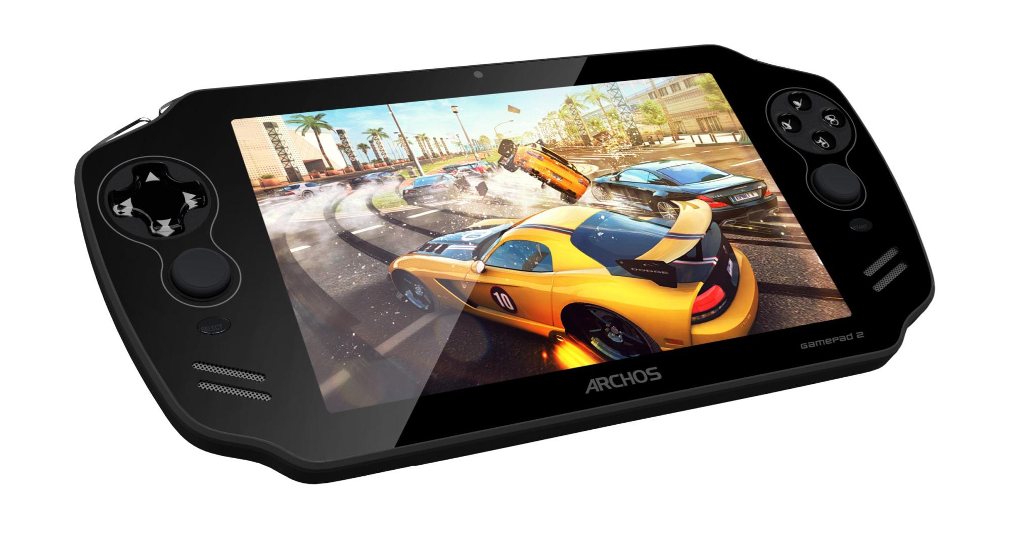 Archos GamePad 2 - herní konzole s androidem do kapsy