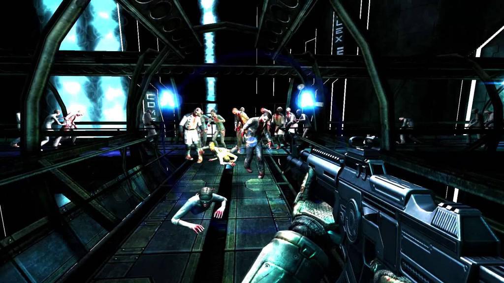 Hra Dead Effect je Akční hororvá 3D FPS se zombie tématikou