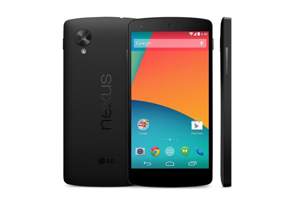 Nový telefon Google LG Nexus 5