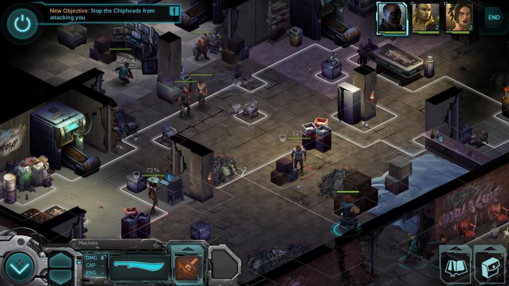 Shadowrun Cyberpunkové RPG na android