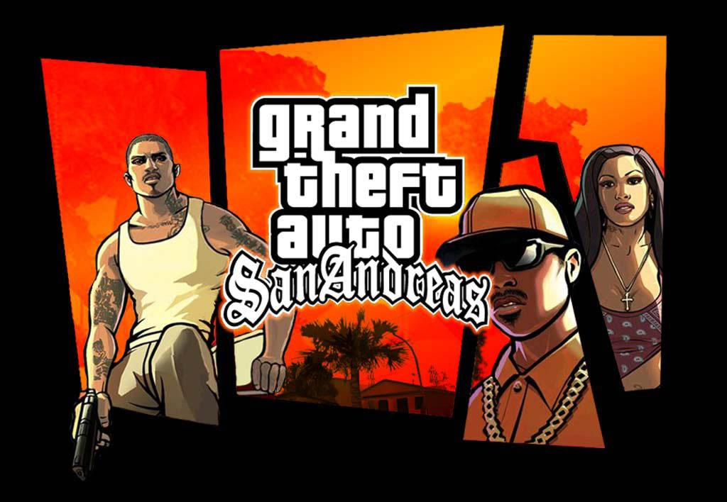 Akční Hra GTA San Andreas - Grand Theft Auto pro Android