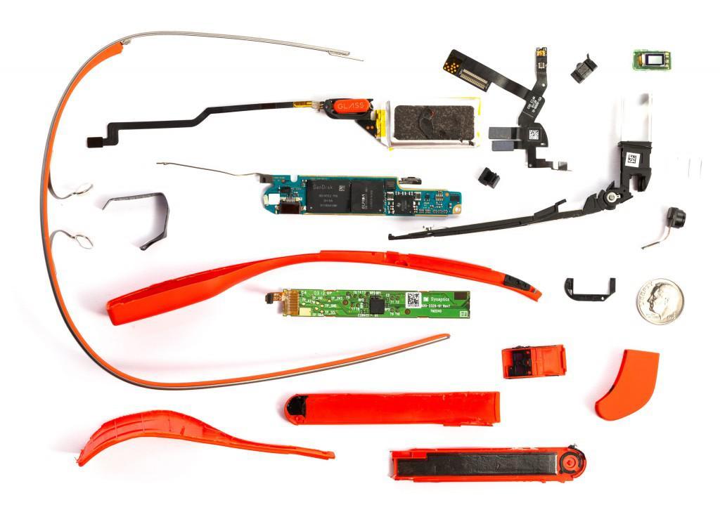 Brýle Google Glass hardwarová specifikace a funkce