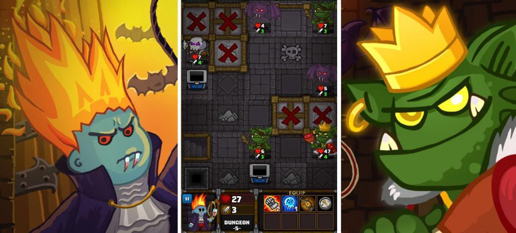 Dungelot je originální RPG hra pro Android