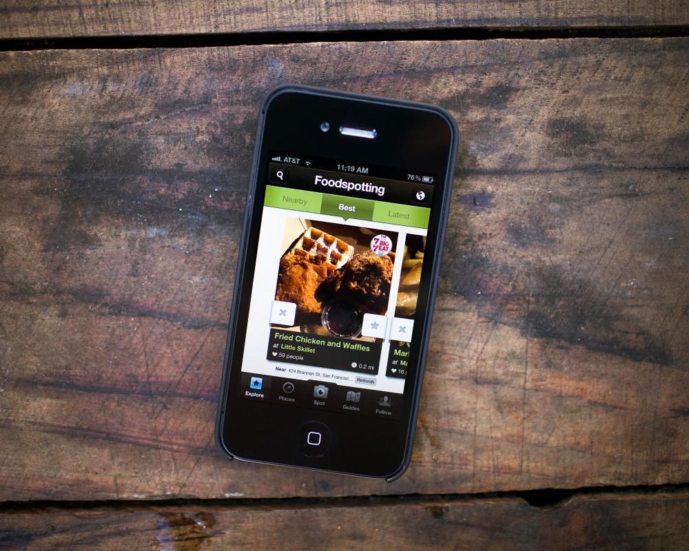 Foodspotting Android aplikace pomůže s výběrem retaurace a jídla na telefonu nebo tabletu