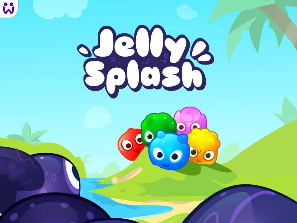 Hra Jelly Splash patří mezi nejlepší logické hry na telefon i tablet