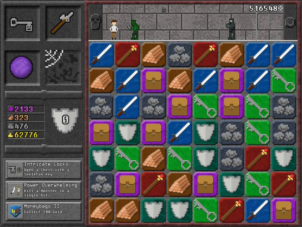 Puzzle RPG hra 10000000 pro Android tablety a telefony