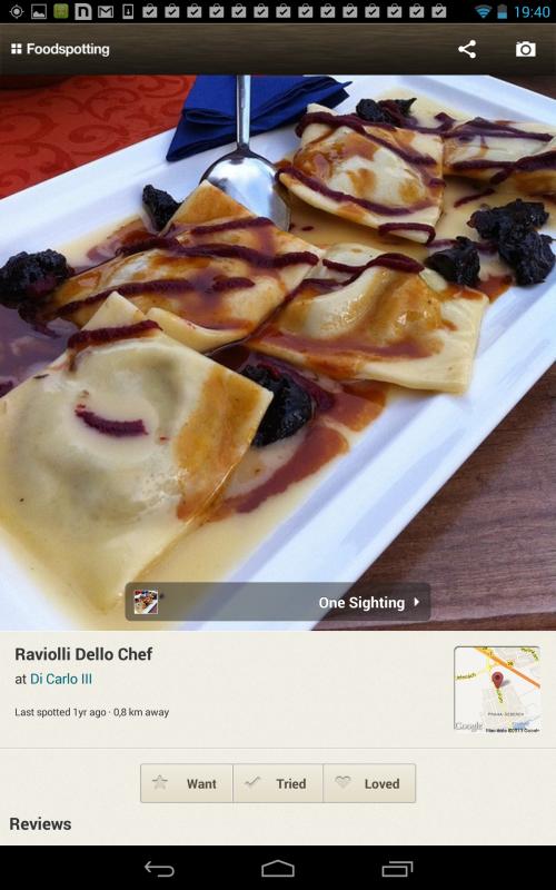 Díky aplikaci Foodspotting pro android telefon najdete na mapě nejlepší restauraci