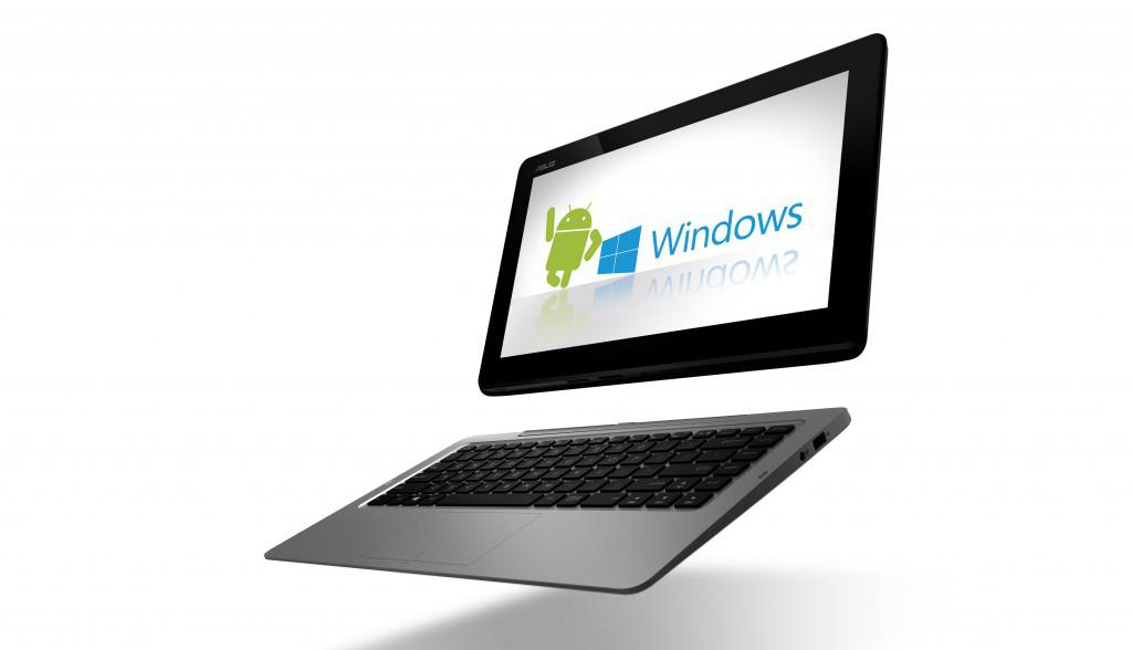 Asus Transformer Book Duet s Androidem i Windows 8 současně