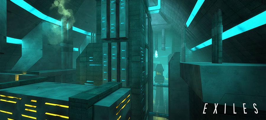 Exiles - Scifi hra na Android s 3D grafikou