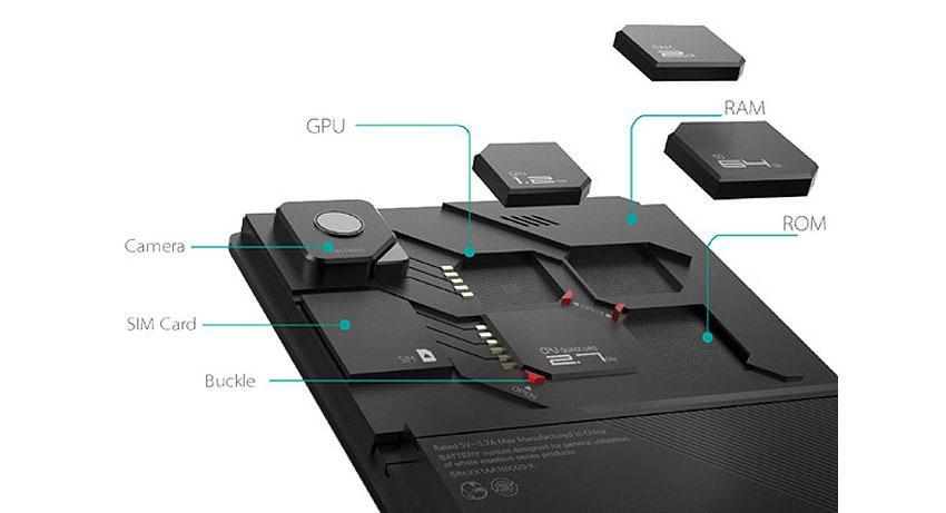 Nový modulární telefon ZTE eco mobius