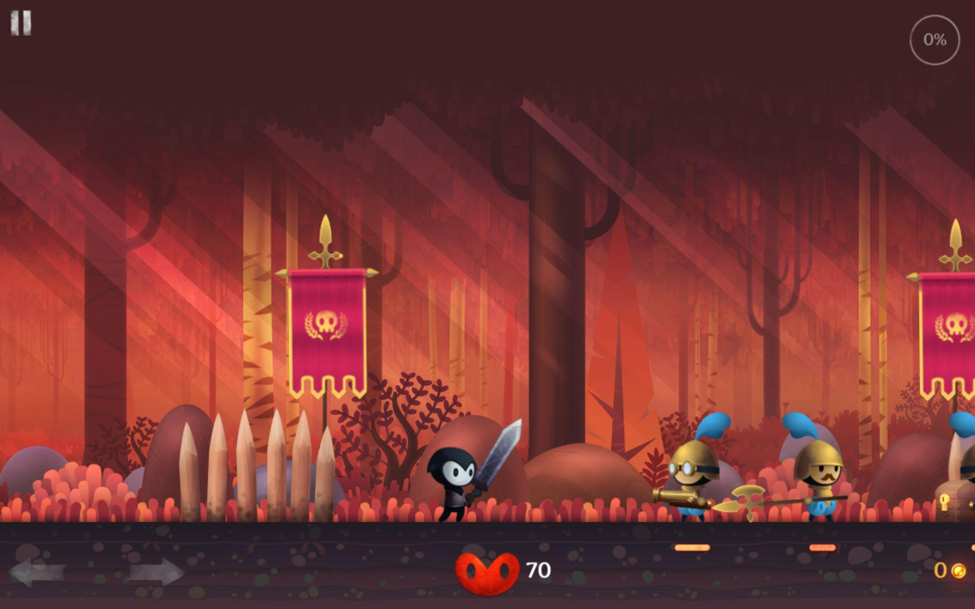 Reaper je 2D side scrolling RPG hra pro Android