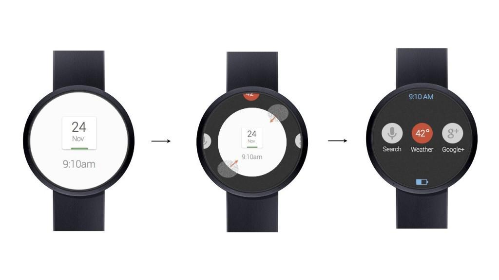 Google hodinky smartwatch