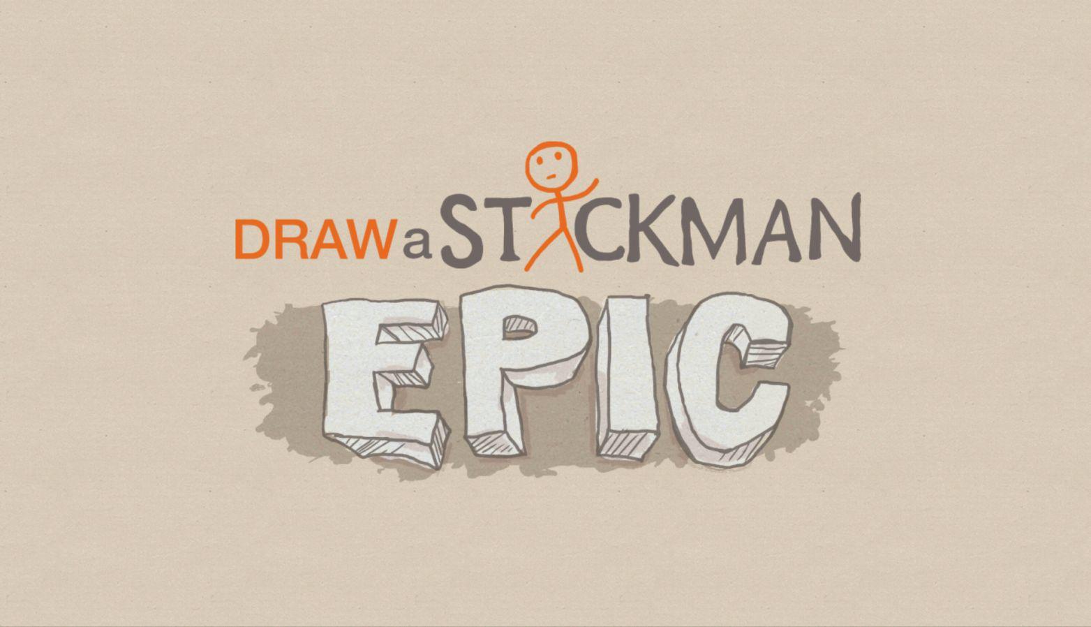 drawn stickman epic