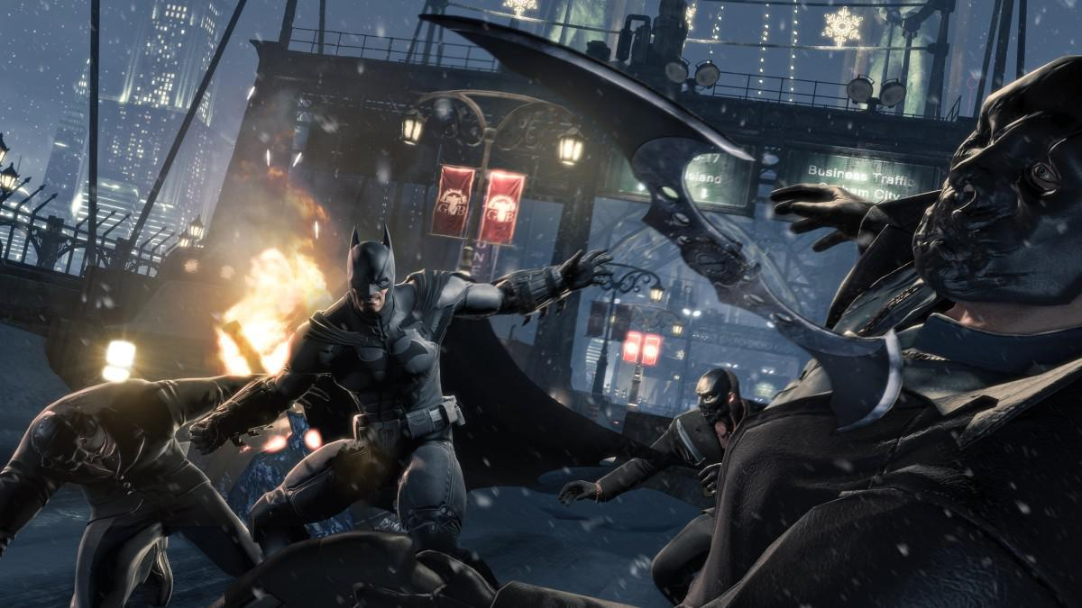 Android hra Batman Arkham Origins