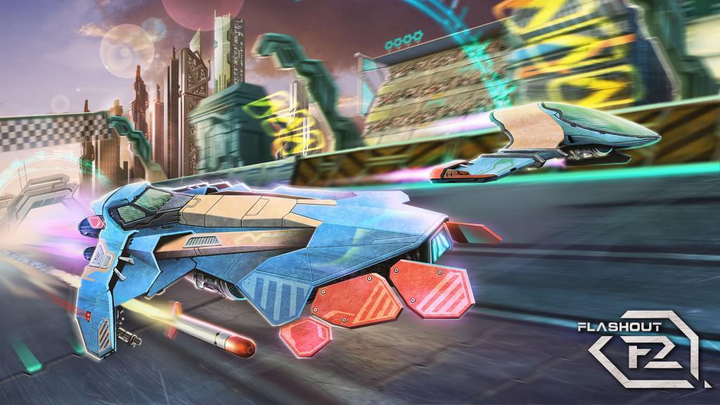 Flashout 2 rychlé závody na Android