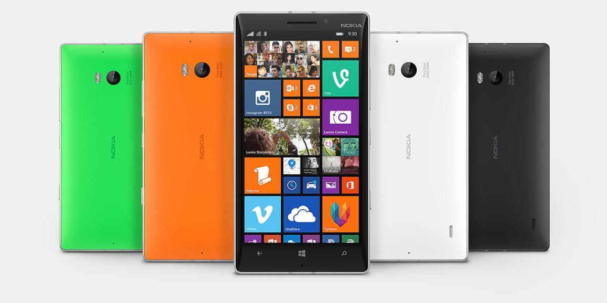 Nokia Lumia 930 varianty