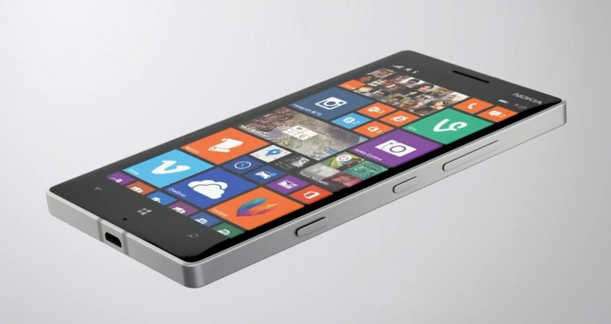 Nokia Lumia 930 z boku
