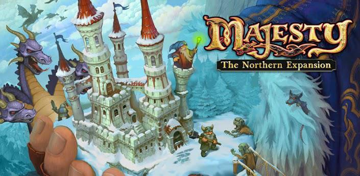 Strategická hra na android Majesty The Northern Kingdom Expansion