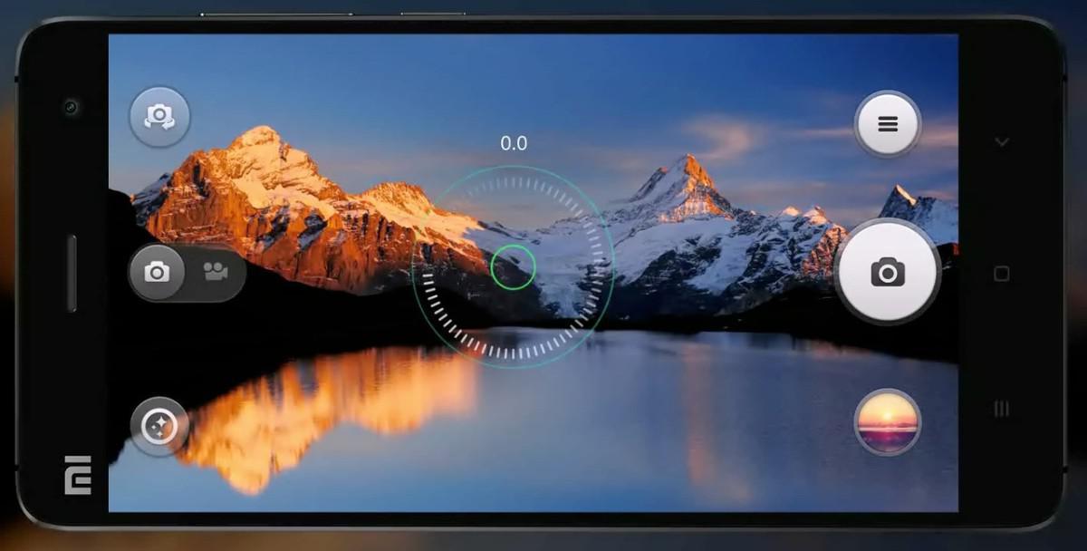Xiaomi Mi 4 fotoaparát