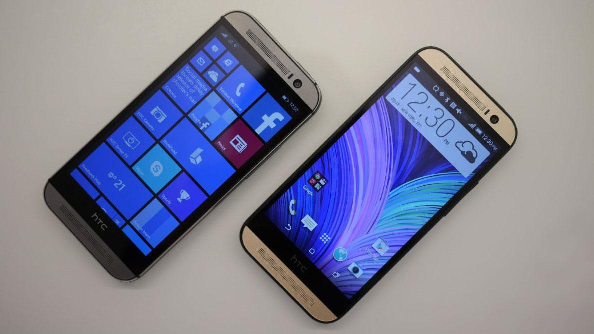 HTC One M8 pro Android i Windows