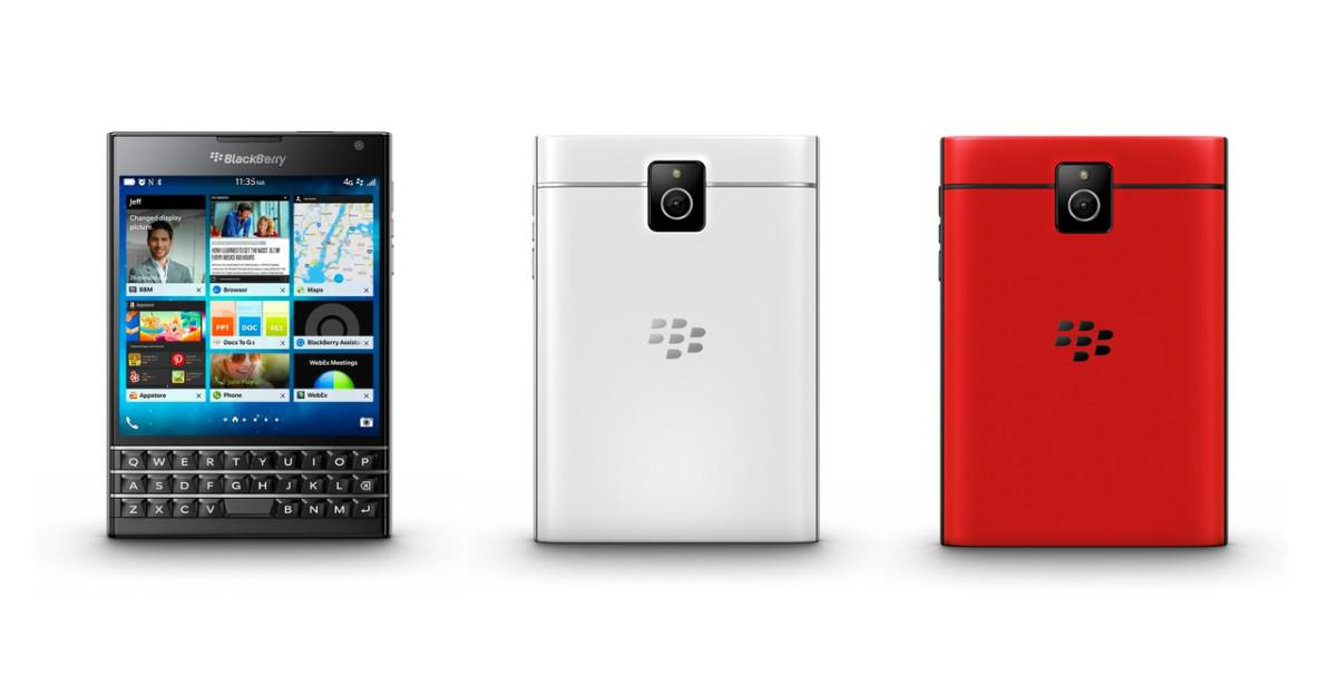 BlackBerry Passport varianty