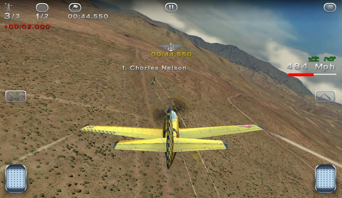 Breitling Reno Air Races je letecká hra na android
