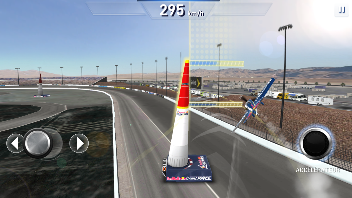Hra Red Bull Air Race The Game na android.ng