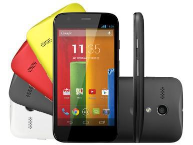 Nová fruhá generace telefonu Motorola Moto G