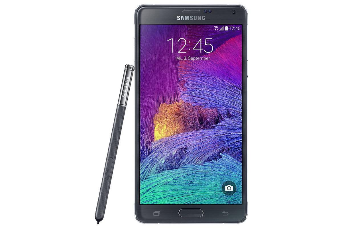 Nový mobilní telefon Samsung Galaxy Note 4