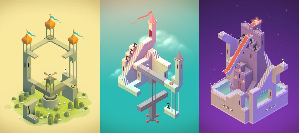 Originální logická android hra Monument Valley