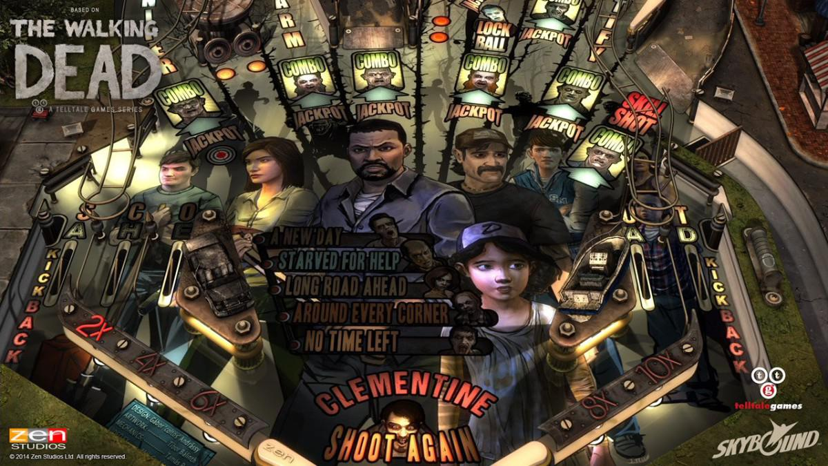 Zen Pinball The Walking Dead